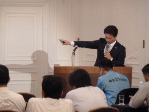 20110916 御堂21倶楽部 勉強会写真 009