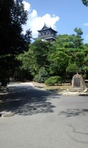 広島城 (出張の空き時間に行ってきました)